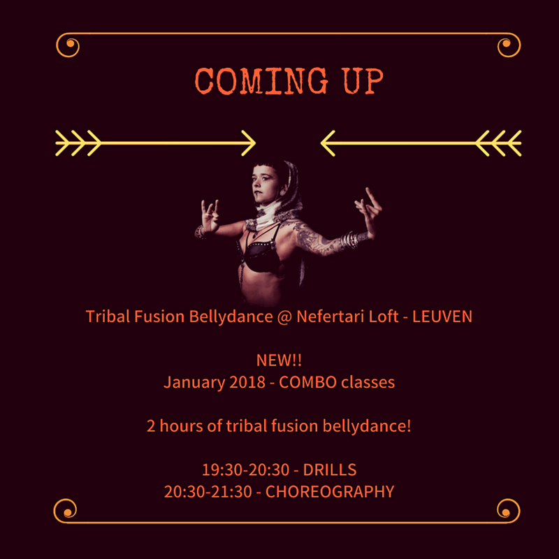 Tribal Fusion & Bellydance: COMBO CLASSES