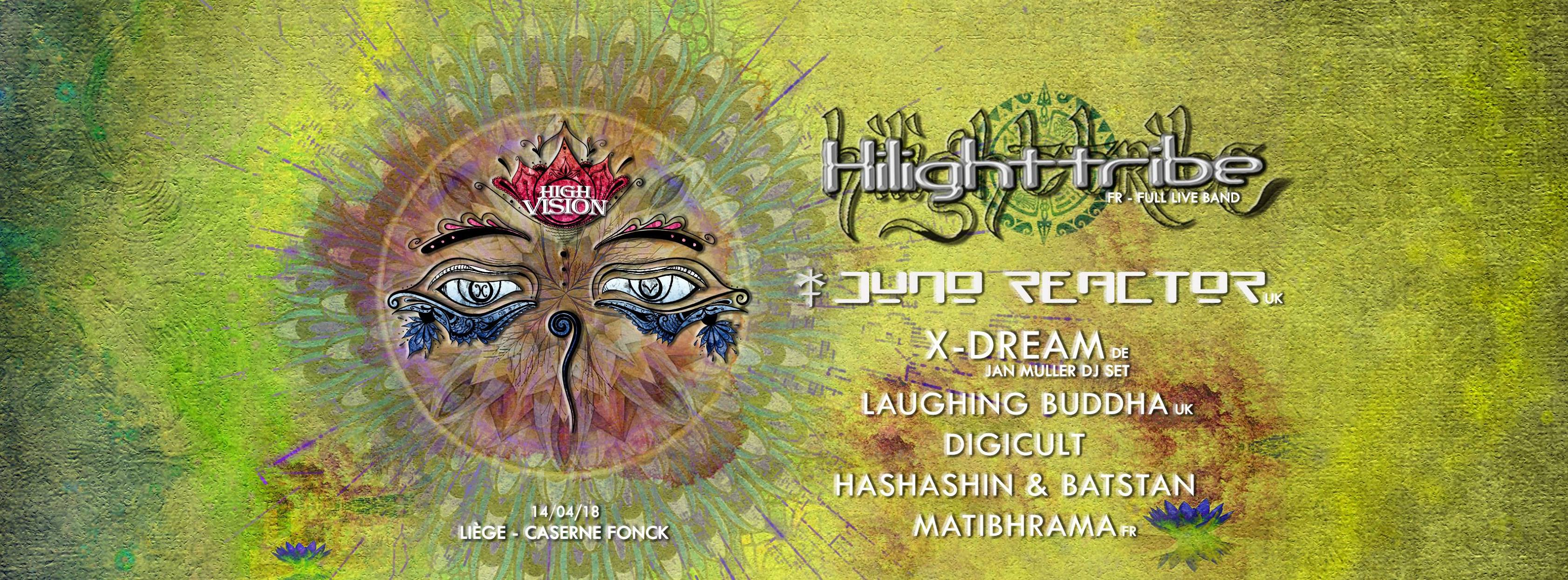 High Vision w/ Hilight Tribe, Juno Reactor